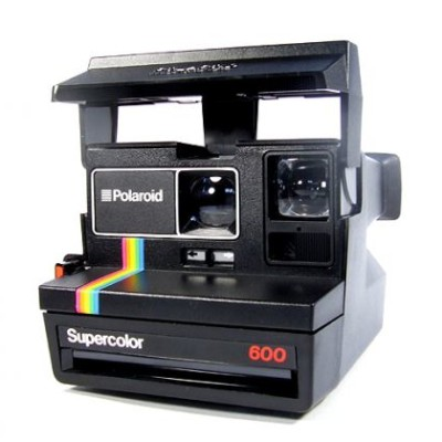 Polaroid 600 Camera (refurbished 80s style)